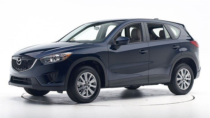 safest cars mazda cx 5 cr: http://www.iihs.org/iihs/ratings/vehicle/v/mazda/cx-5/2015