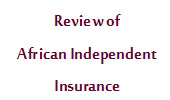African Independent Insurance