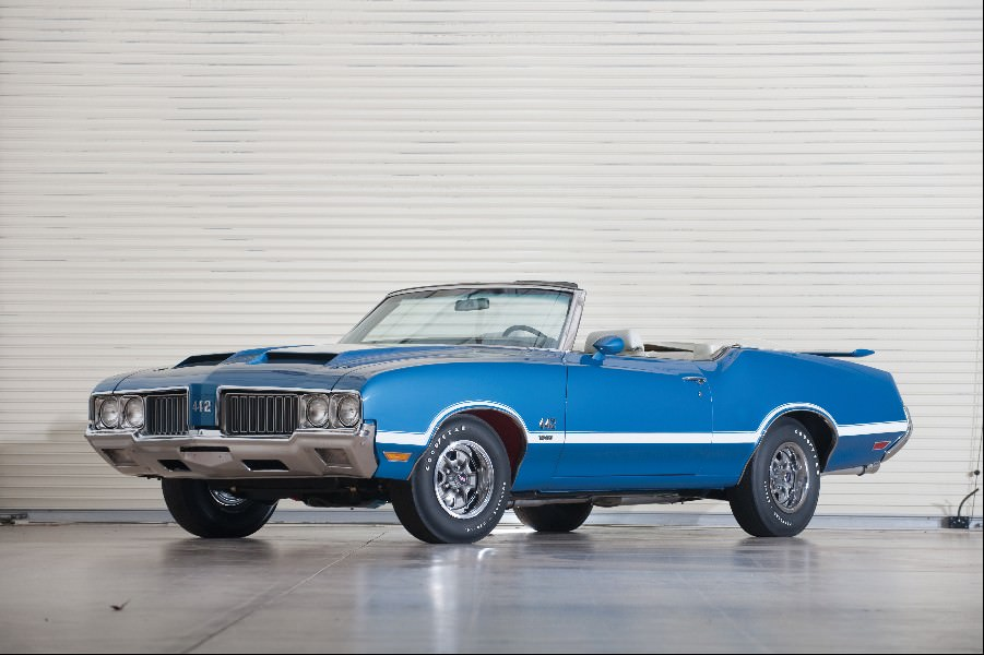Oldsmobile Cutlass, cr:Darin Schnabel © Courtesy of Auctions America