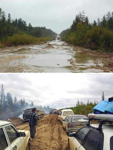 Road to Yakutsk, cr: oddee.com