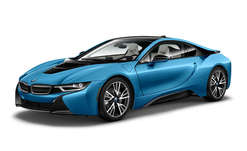 The 2015 BMW i8 - cr:caranddriver.com