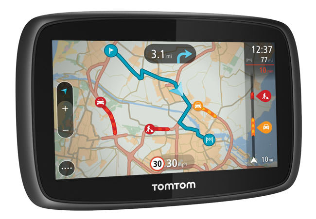 TomTom Go 40, credit: theregister.co.uk
