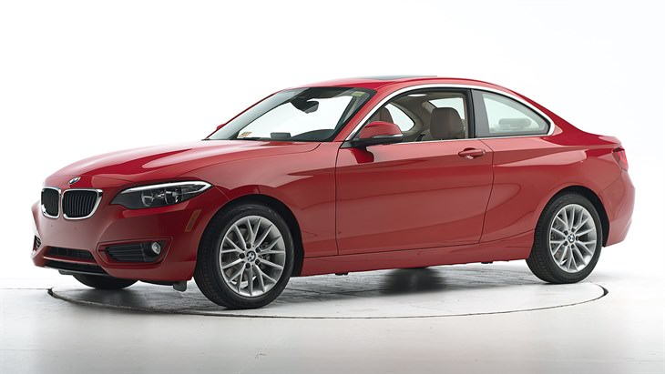 safest cars BMW , cr: http://www.iihs.org/iihs/ratings/vehicle/v/bmw/2-series/2015